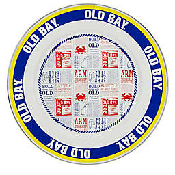 Golden Rabbit® Old Bay Charger Plates in Yellow (Set of 2)