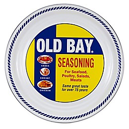 Golden Rabbit® Old Bay 20-Inch Round Serving Board in Yellow