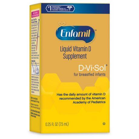 Enfamil 174 D Vi Sol 174 50 Ml Liquid Vitamin D Supplement Drops