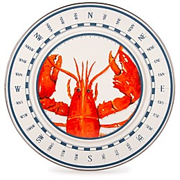 Golden Rabbit® Lobster Charger Plates in Red (Set of 2)