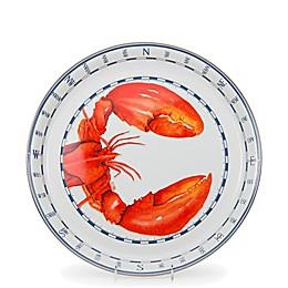 Golden Rabbit® Lobster 15.5-Inch Round Serving Board in Red
