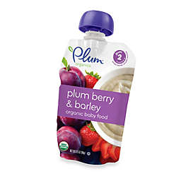 Plum Organics™ Second Blends™ 3.5 oz. Plum Berry and Barley Organic Baby Food