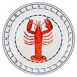 Golden Rabbit® Lobster 20-Inch Round Serving Tray