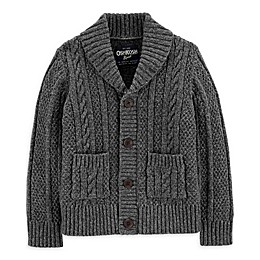 OshKosh B'gosh® Shawl Collar Sweater in Black