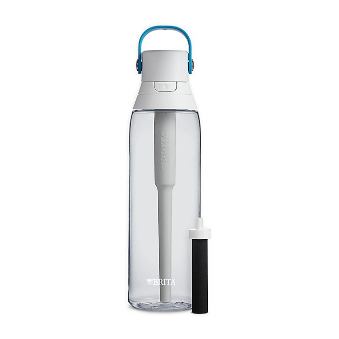 Alternate image 1 for Brita® Premium 26 oz. Filtering Water Bottle in Clear