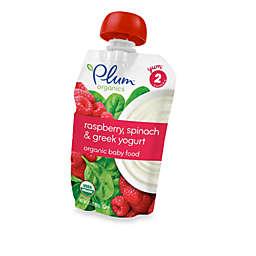 Plum Organics™ Baby Second Blends™ Fruit & Grain - Raspberry, Spinach & Greek Yogurt