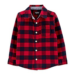 OshKosh B'gosh® Toddler Woven Buffalo Plaid Shirt