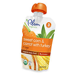 Plum Organics™ Baby Stage 3 Carrot and Spinach with Turkey, Corn, and Potato