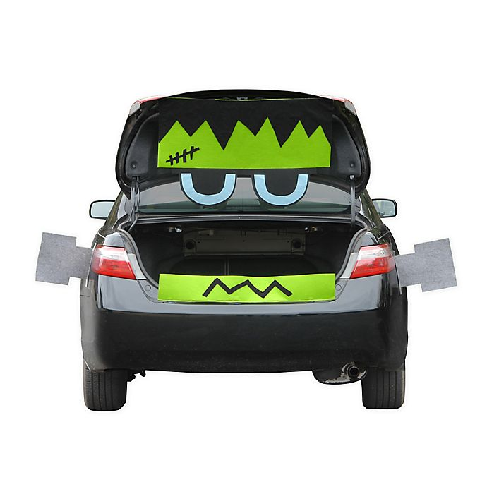 Alternate image 1 for National Tree Company Tricky Trunks™ Frankenstein Halloween Car Kit in Green