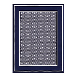 Destination Summer™ Miami Area Rug in Navy/Ivory