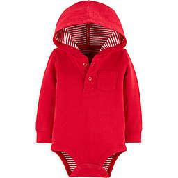 OsghKosh B'gosh® Hooded Bodysuit in Red