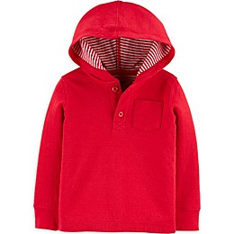 OshKosh B'gosh® Hooded Long Sleeve Top
