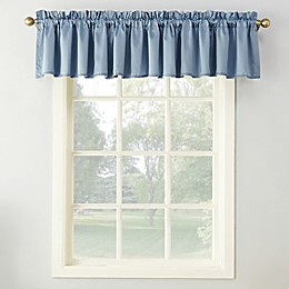 Sun Zero™ Bella 18-Inch Rod Pocket Room Darkening Curtain Valance