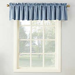 Sun Zero® Bella 18-Inch Rod Pocket Room Darkening Curtain Valance