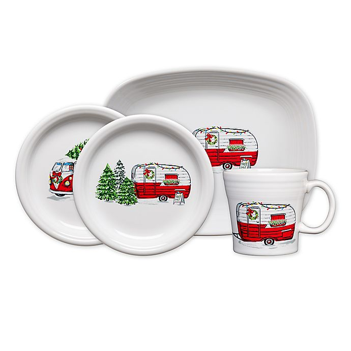 Alternate image 1 for Fiesta® Christmas Trailer Dinnerware Collection