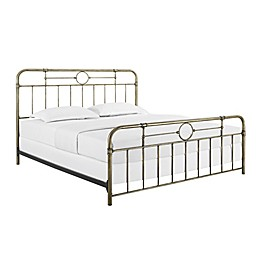 Forest Gate™ King Metal Pipe Bed in Bronze