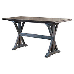 K & B Furniture Counter Table in Grey
