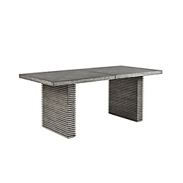 Madison Park West Ridge Dining Table in Grey