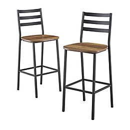 Forest Gate™ Wheatland Counter Stools (Set of 2)