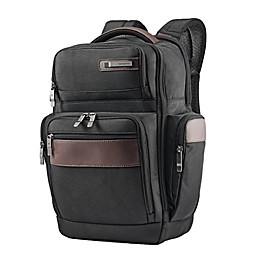 Samsonite® Kombi 4 Square Backpack in Black/Brown
