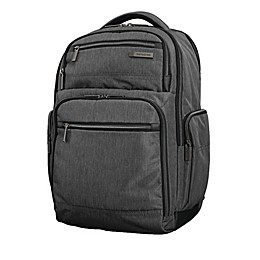 Samsonite® Modern Utility Double Shot Backpack in Charcoal Heather