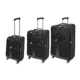 Adrienne Vittadini Diamond Quilted 3-Piece Spinner Luggage Set