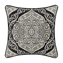 J. Queen New York™ Vera Throw Pillow in Black