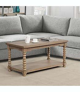 Mesa de centro Spindle Bee & Willow™ Home en café grisáceo