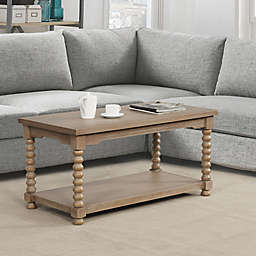 Bee & Willow™ Home Spindle Coffee Table in Grey Wash