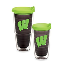 Tervis® University of Wisconsin Badgers Tumbler with Lid in Neon Green