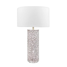 nuLOOM Concrete Table Lamp with Cotton Shade