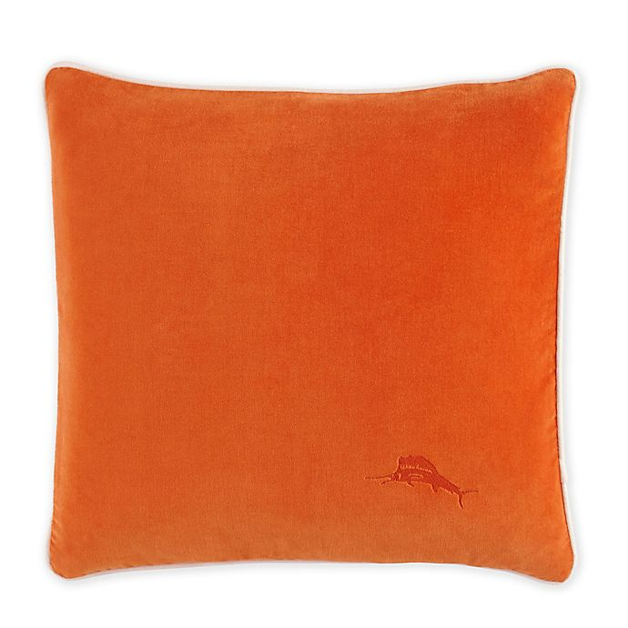 Alternate image 1 for Tommy Bahama® San Jacinto Throw Pillow in Persimmon