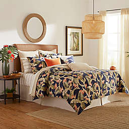 Tommy Bahama® San Jacinto 4-Piece Queen Comforter Set in Indigo