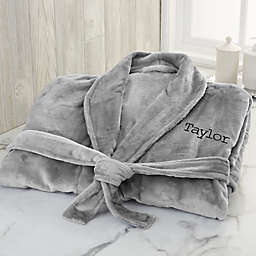 Classic Comfort Personalized Luxury Fleece Robe Collection
