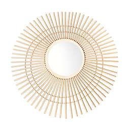 Safavieh Marlit 24-Inch Sunburst Mirror in Gold
