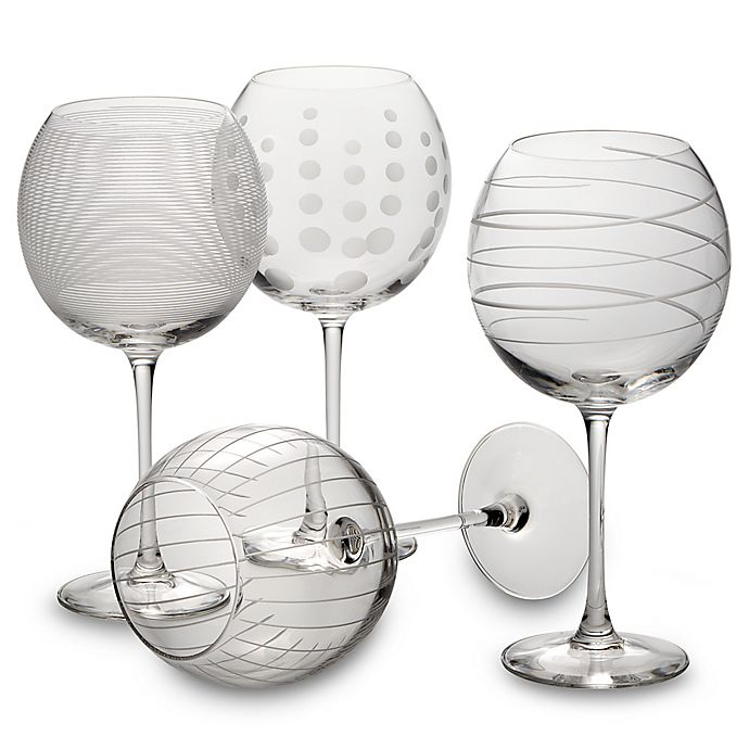 Alternate image 1 for Mikasa® Cheers 24.5 oz. Balloon Goblets (Set of 4)