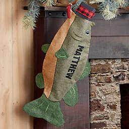Fishing Enthusiast Personalized Stocking