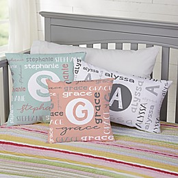 Youthful Name For Her Personalized 18-Inch Square Throw Pillow