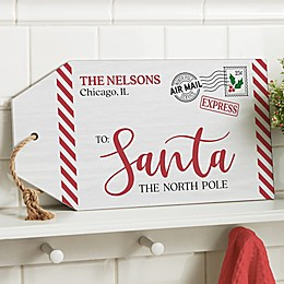 Letter To Santa Personalized Wood Tag