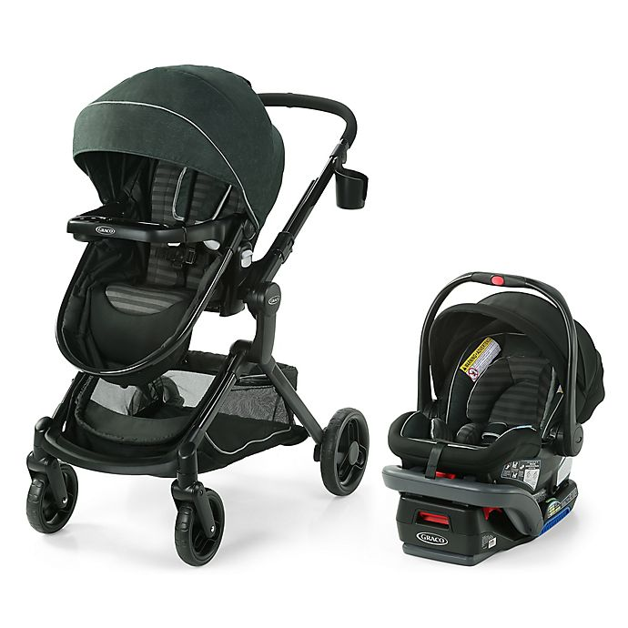 Alternate image 1 for Graco® Modes™ Nest DLX Travel System in Raven