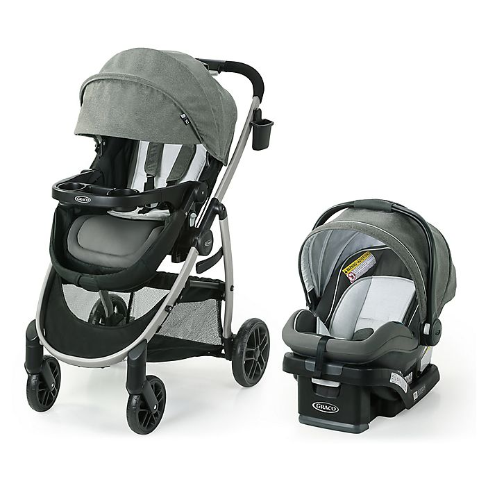 Alternate image 1 for Graco® Modes™ Pramette DLX Travel System in Huron