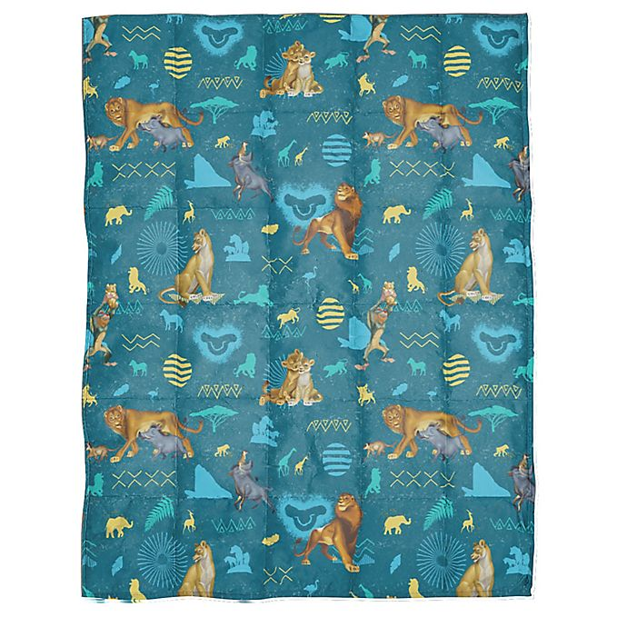 Alternate image 1 for Disney® The Lion King Weighted Blanket