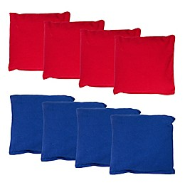 Franklin® Sports 8-Piece Official Cornhole Bag Set in Red/Blue
