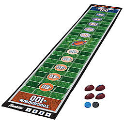 Franklin® Sports 7-Piece Football Shuffleboard Game with Play Mat in Green/Brown