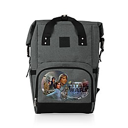 Star Wars™ Celebration 22.7-Liter Roll-Top On-The-Go Cooler Backpack in Grey