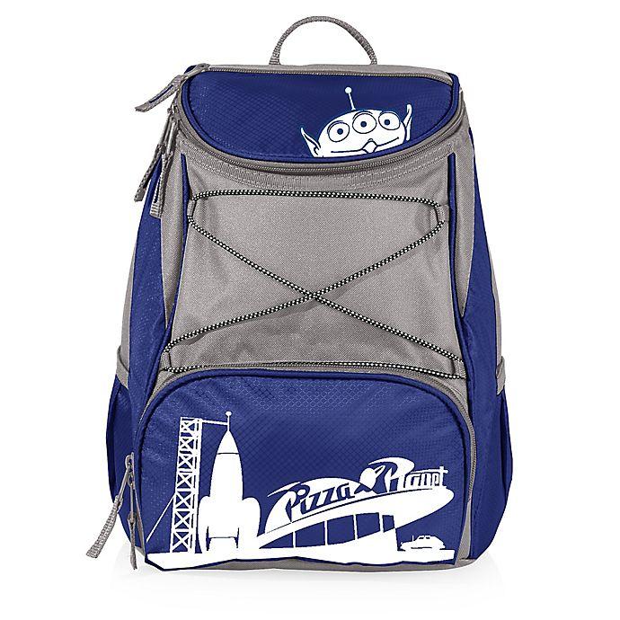 Alternate image 1 for Disney® Pizza Planet PTX Cooler Backpack in Blue