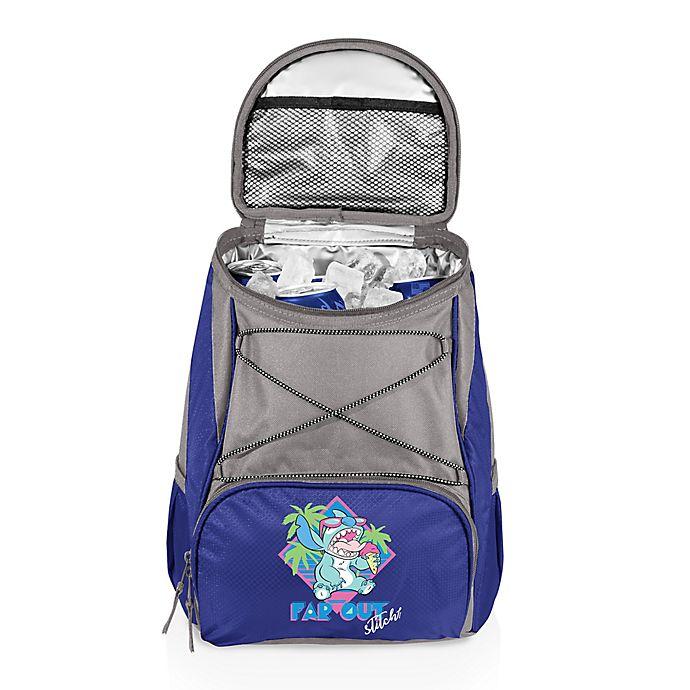 Alternate image 1 for Disney® Stitch PTX Cooler Backpack in Blue