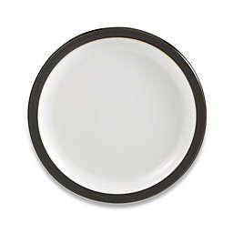Denby Jet 10 1/2-Inch Dinner Plate in Grey/White