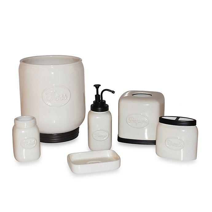 Bed Bath And Beyond Bath Accessories: Lifestyle Home Mason Bathroom Accessories