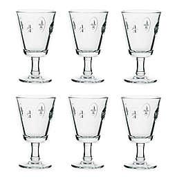 La Rochère Fleur de Lys Wine Glasses (Set of 6)